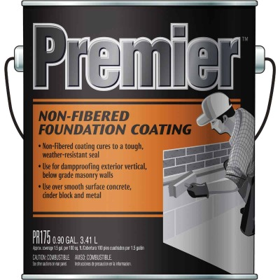 Premier 175 1 Gal. Non-Fibered Foundation Coating