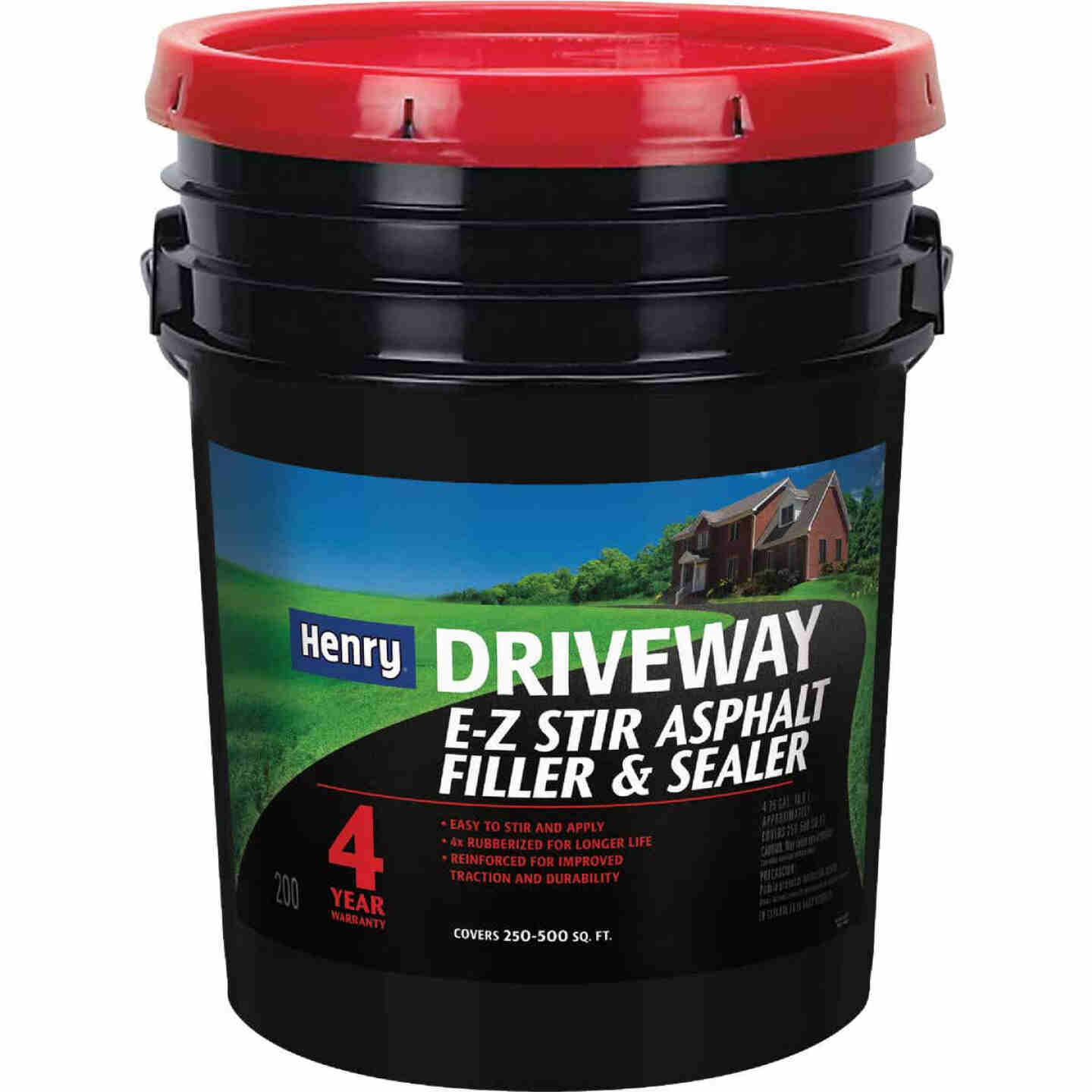 Henry 4.75 Gal. Blacktop Driveway Filler and Sealer, 4 Year Image 1