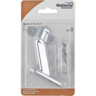 National Satin Chrome Zinc Die-Cast With Steel Strap Handrail Bracket Image 2