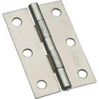 National 3 In. Zinc Tight-Pin Narrow Hinge (2-Pack) Image 1