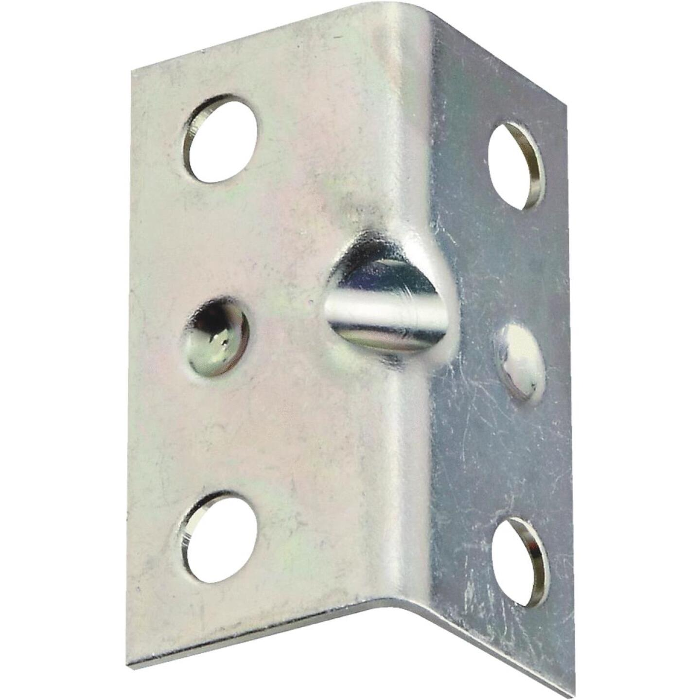 National Catalog V113 Series 1-1/2 In. x 3/4 In. Zinc Corner Brace (4-Count) Image 1