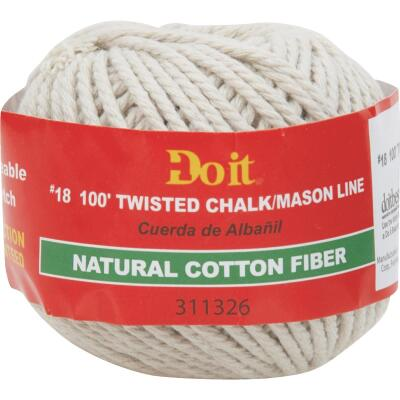 Do it 100 Ft. Twisted Cotton Chalk Line