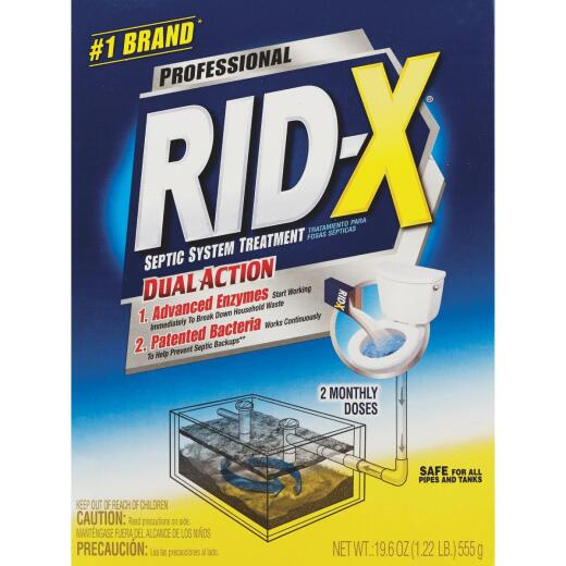 Rid-X Professional 19.6 Oz. Septic Tank Treatment (2-Pack)