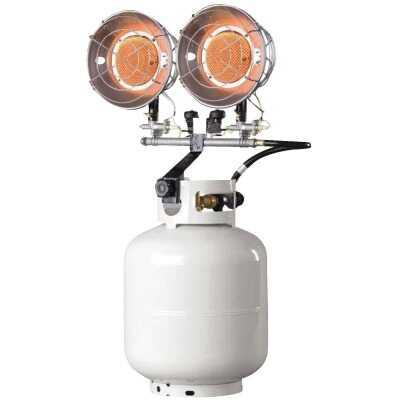 MR. HEATER 30,000 BTU Radiant Double Tank Top Propane Heater