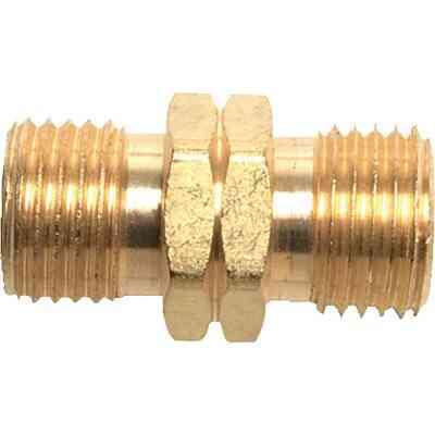 MR. HEATER 9/16 In. LHMT x 9/16 In. LHMT Brass Male Pipe Fitting