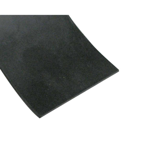 Abbott Rubber 1/16 In. x 33 Ft. Bulk Black Gasket Material