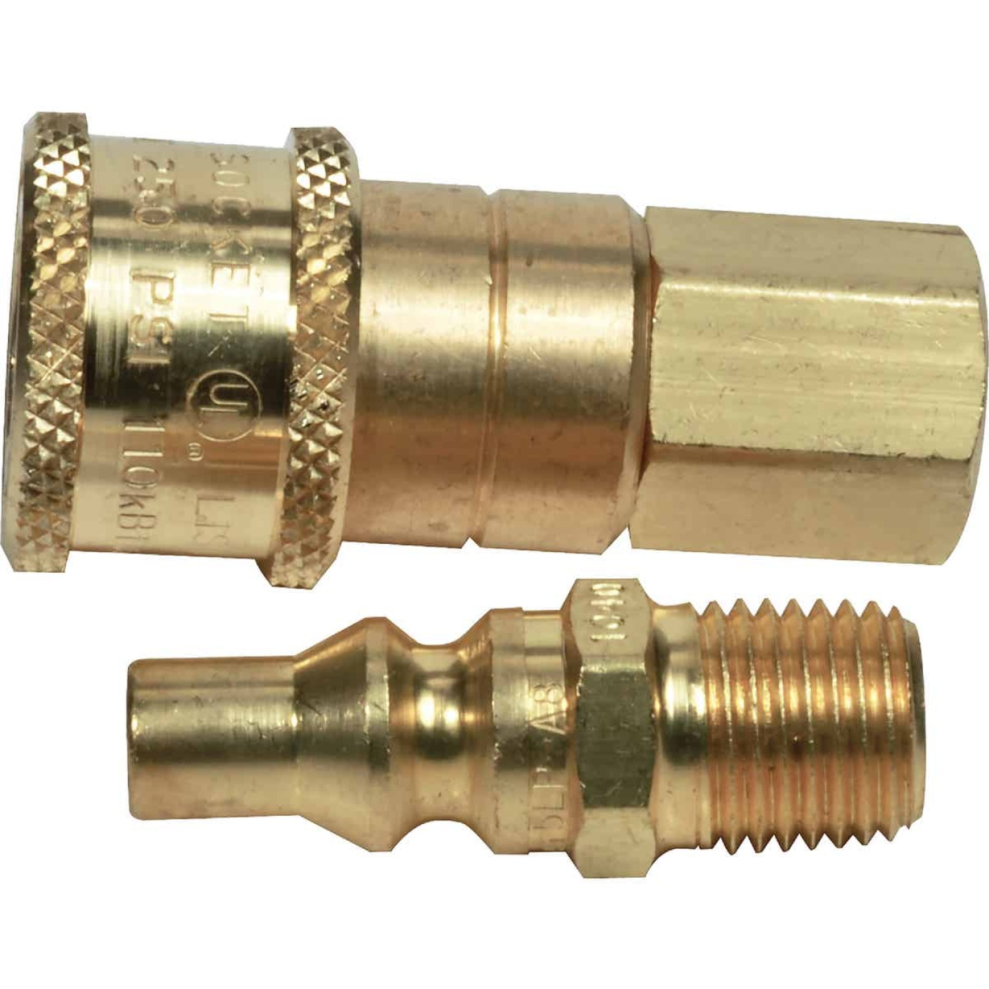 MR. HEATER 1/4 In. Brass Gas Connector Image 1