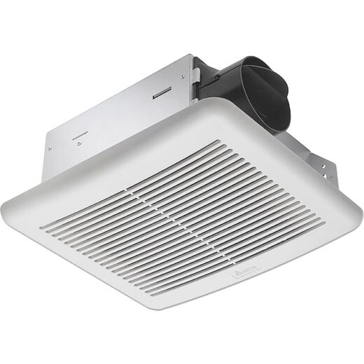 Delta BreezSlim 70 CFM 2.0 Sones 120V Exhaust Bath Fan with Humidity Sensor