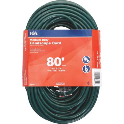 Do it Best 80 Ft. 16/3 Landscape Extension Cord