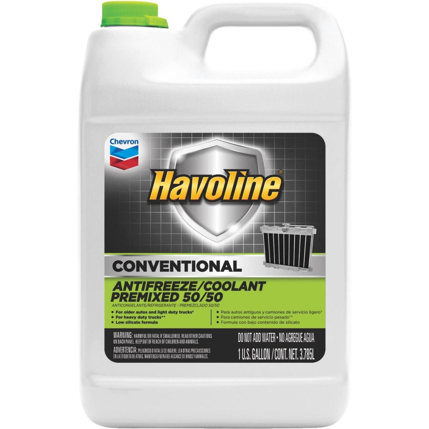 Havoline Conventional Gallon 50/50 Pre-Diluted -34 F to 265 F Automotive Antifreeze Image 1