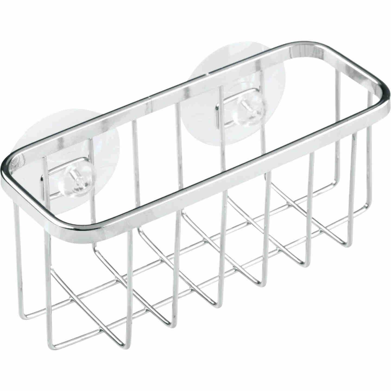 InterDesign Sinkworks Suction Sink Center Sponge Holder Image 1