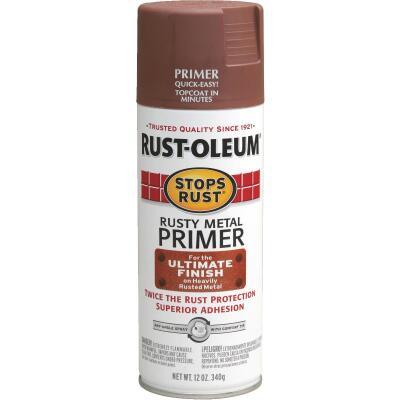 Rust-Oleum 12 Oz. Brown Rusty Metal Spray Primer