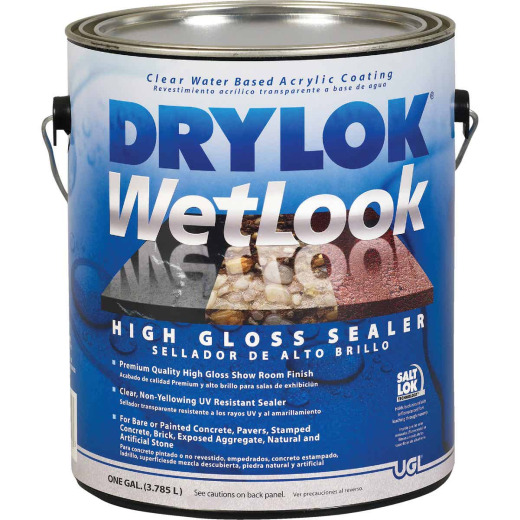Drylok Wetlook Clear Concrete Sealer, 1 Gal.